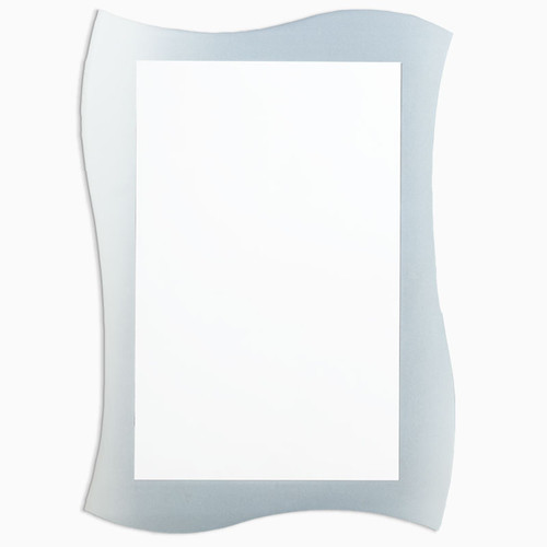 Kentwood Frameless Mirror with Frosted Border 348
