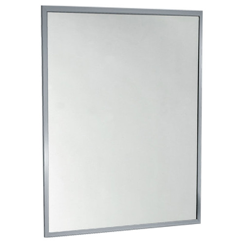 American Accessories California Channel Frame Mirror - Tempered Glass