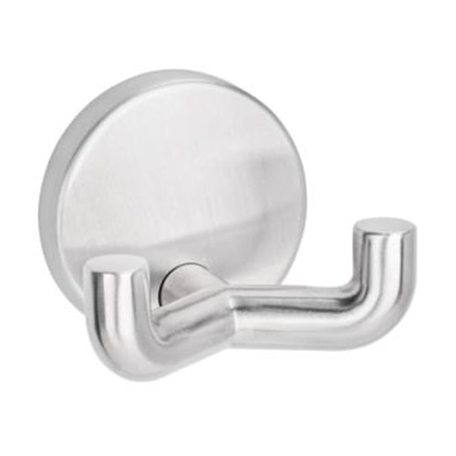 HEWI Stainless Steel Double Wall Hook with Round Rose - 805.90.025 - Default