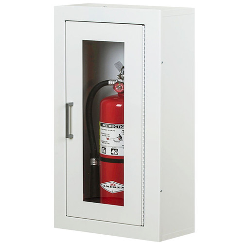 Surface Mounted Extinguisher Cabinet - Larsen Architectural Series
