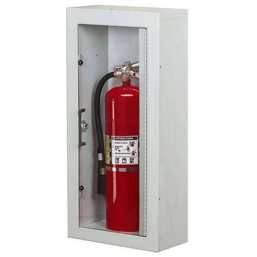 Surface Mounted Fire Extinguisher Cabinet - Larsen Gemini Series