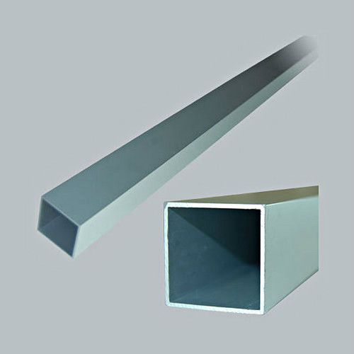 All American Partitions Square Aluminum Post