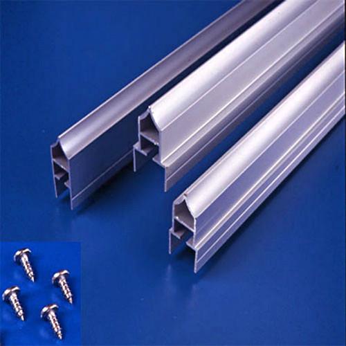 Global Partitions Aluminum Anti-Grip Headrail