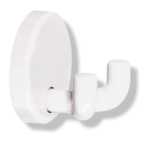 HEWI Nylon Double Wall Hook with Round Rose - 801.90.020 - Default