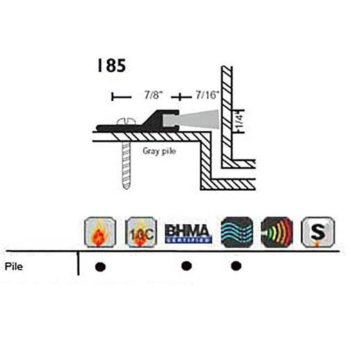 """NGP 1-1/16"""" X 1/4"""" Perimeter Seal 185"""