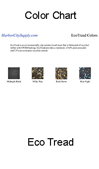 EcoTread Color Chart
