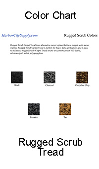 Rugged Scrub Color Chart