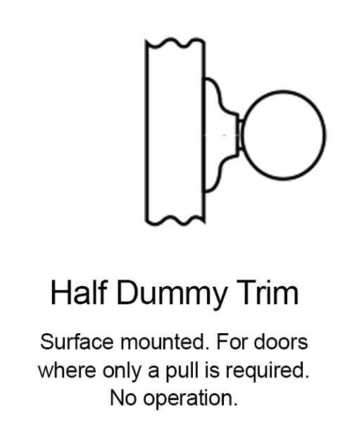 Half Dummy Knob Function