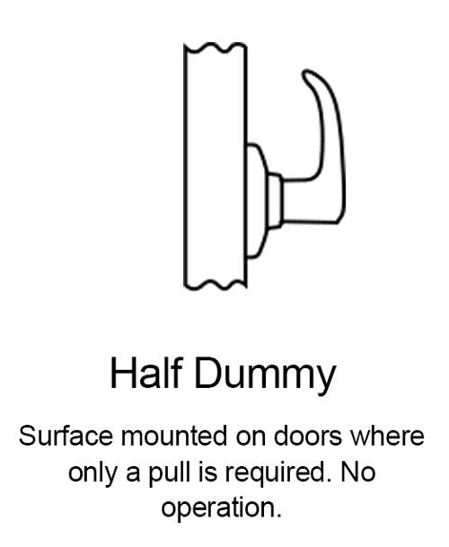 Half Dummy Lever Function