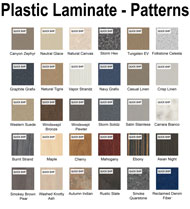 Plastic Laminate Solid Color Chart Thumbnail