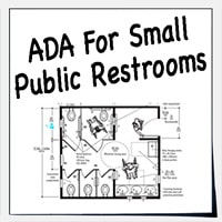 small public restrooms