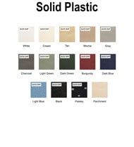 Solid Plastic Color Chart Thumbnail