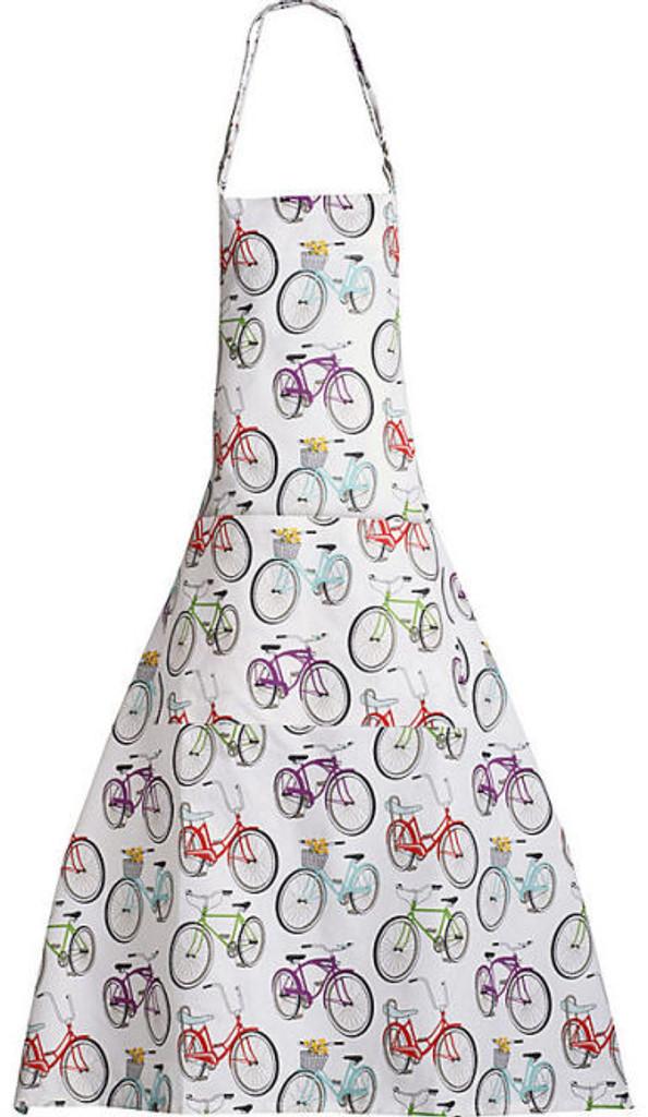 Retro Bicycle Apron