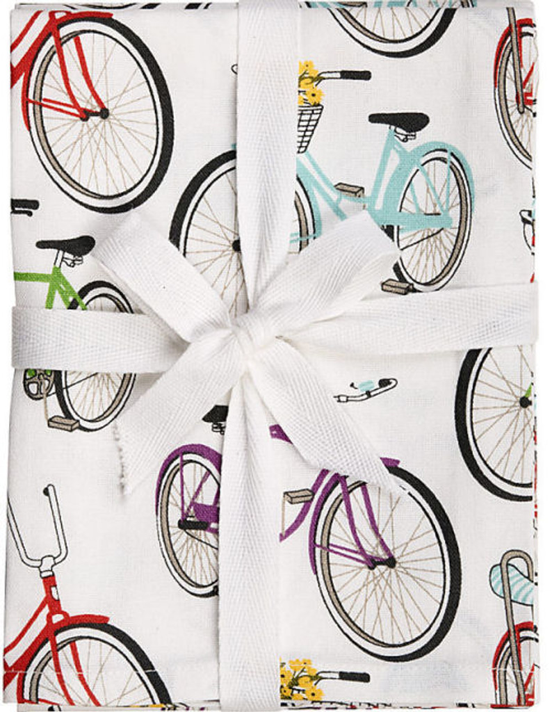 Retro Bicycle Tea Towels