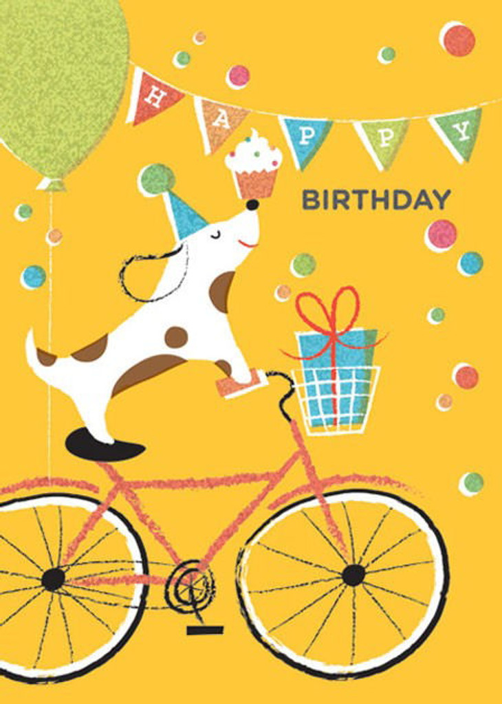 Birthday Message from dog