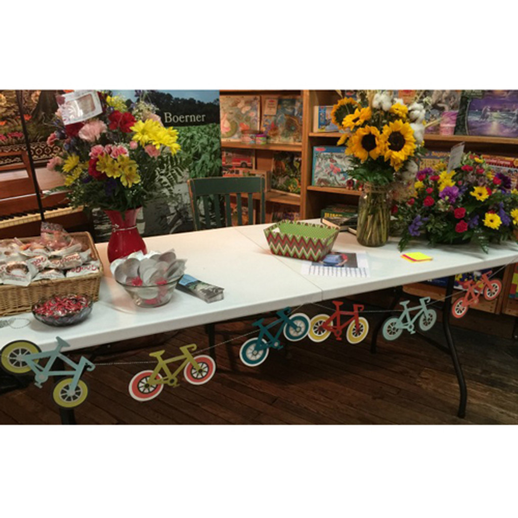 Large Bike Paper Garland Kit