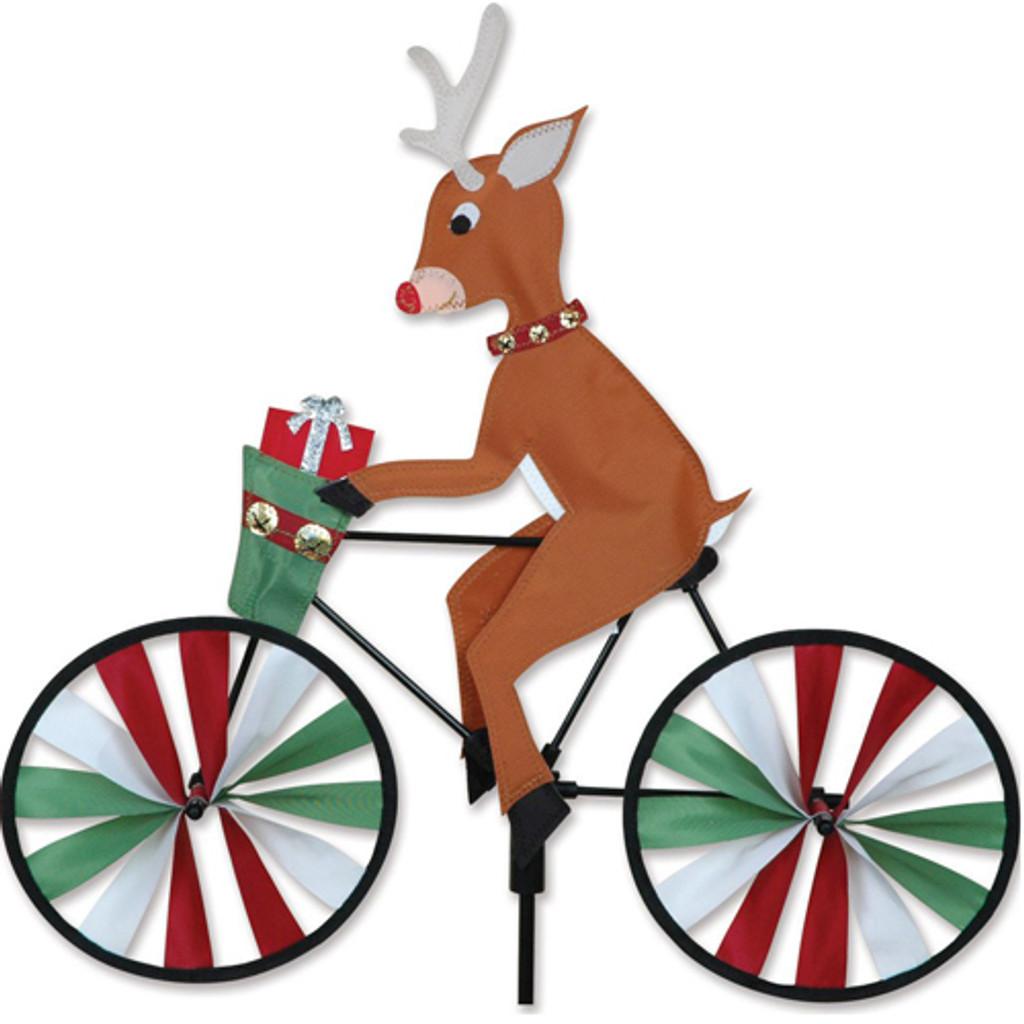 Reindeer Cyclist Spinner