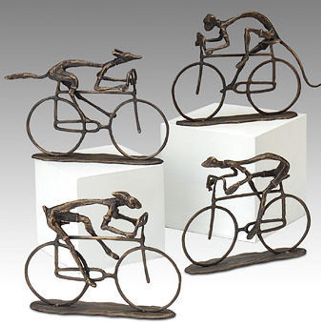 Group Ride Animal Cyclists