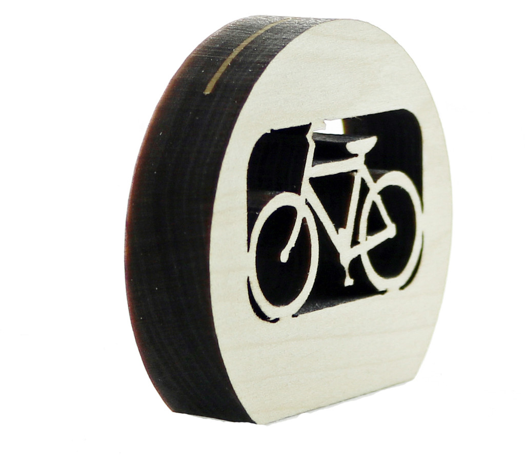 Laser Cut Bicycle Photo Holder