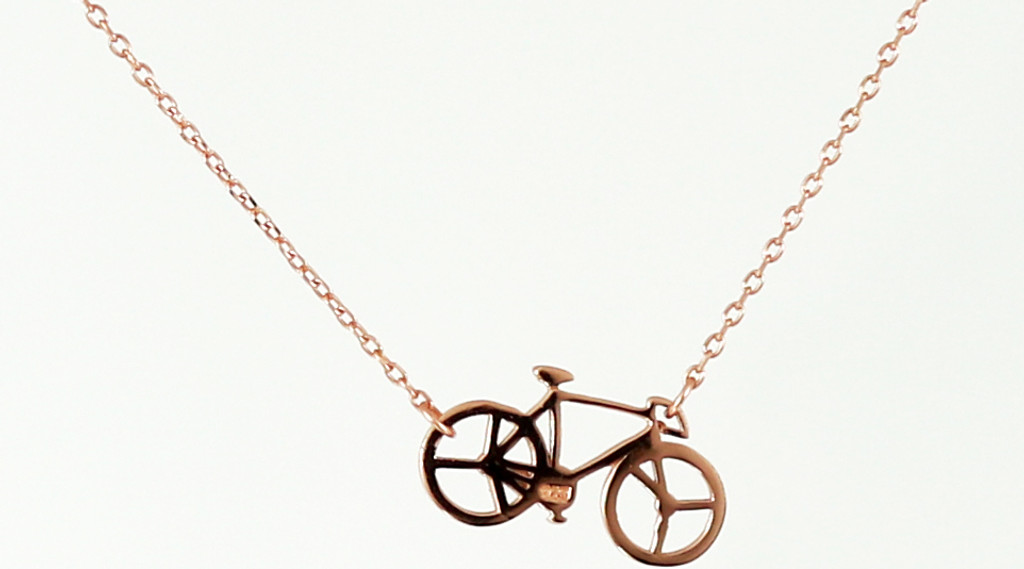 Rose Gold plated sterling