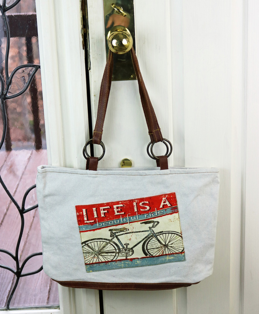 Beautiful Ride Canvas Handbag