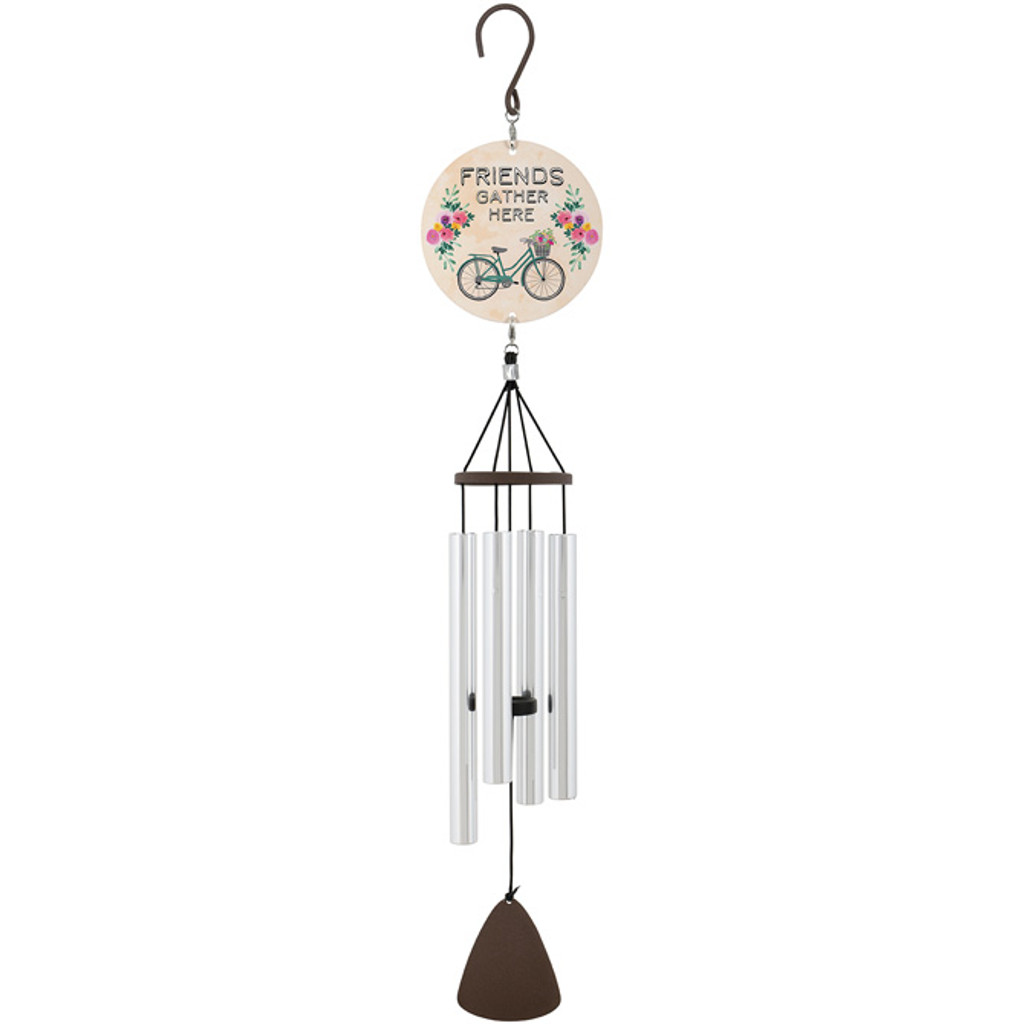"27"" Chimes with Bicycle theme"