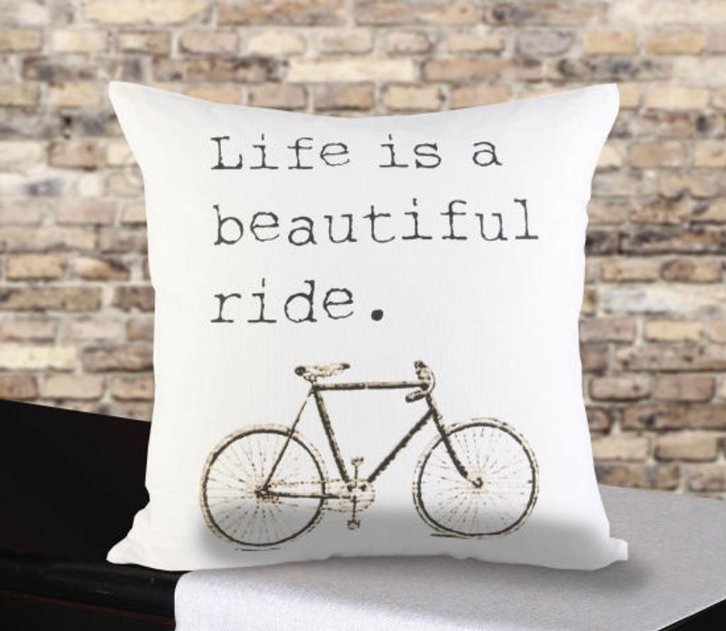 Beautiful Ride Pillow