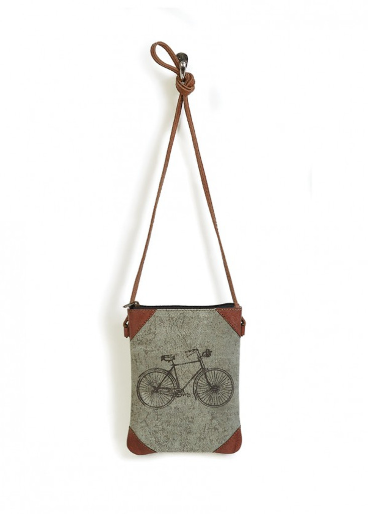 Classic Bicycle Canvas Crossbody Bag