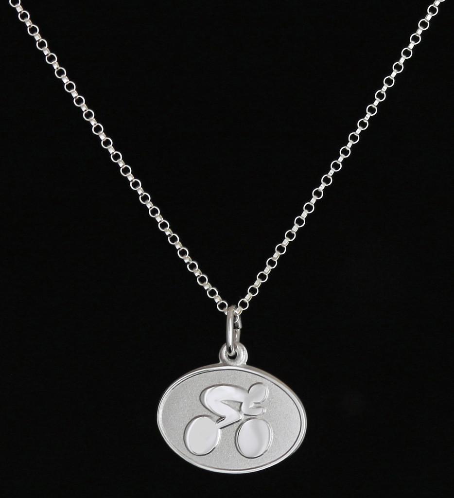 Contemporary Cyclist Necklace