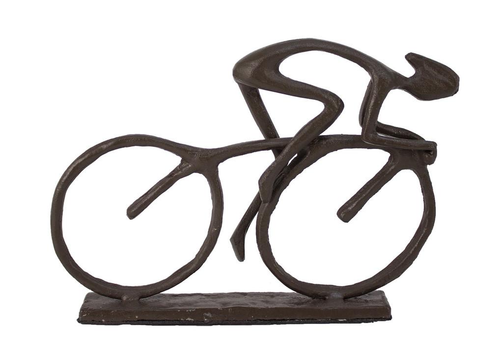 Small Iron Desktop Cyclist