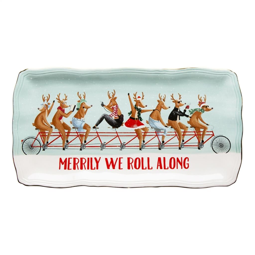 Merrily We Roll Along Platter