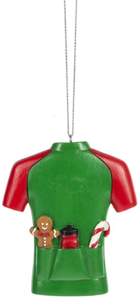 Ride Fat Cycling Jersey Ornament