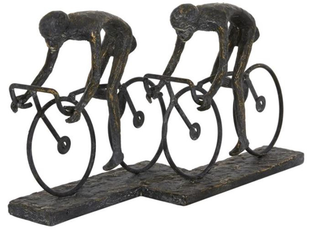 Cycling Friends Ride Sculpture
