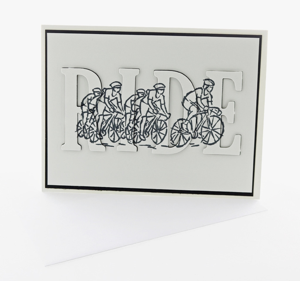 3D Group RIDE Greeting Card