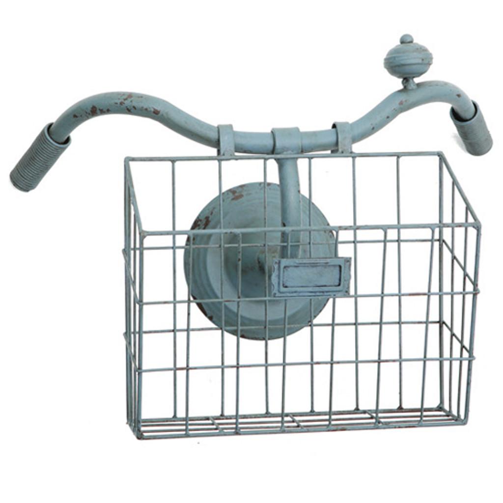 Bicycle Handlebar Wall Basket