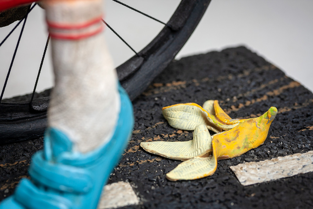 The Cyclist Limited Edition Collectible Sculpture by Forchino