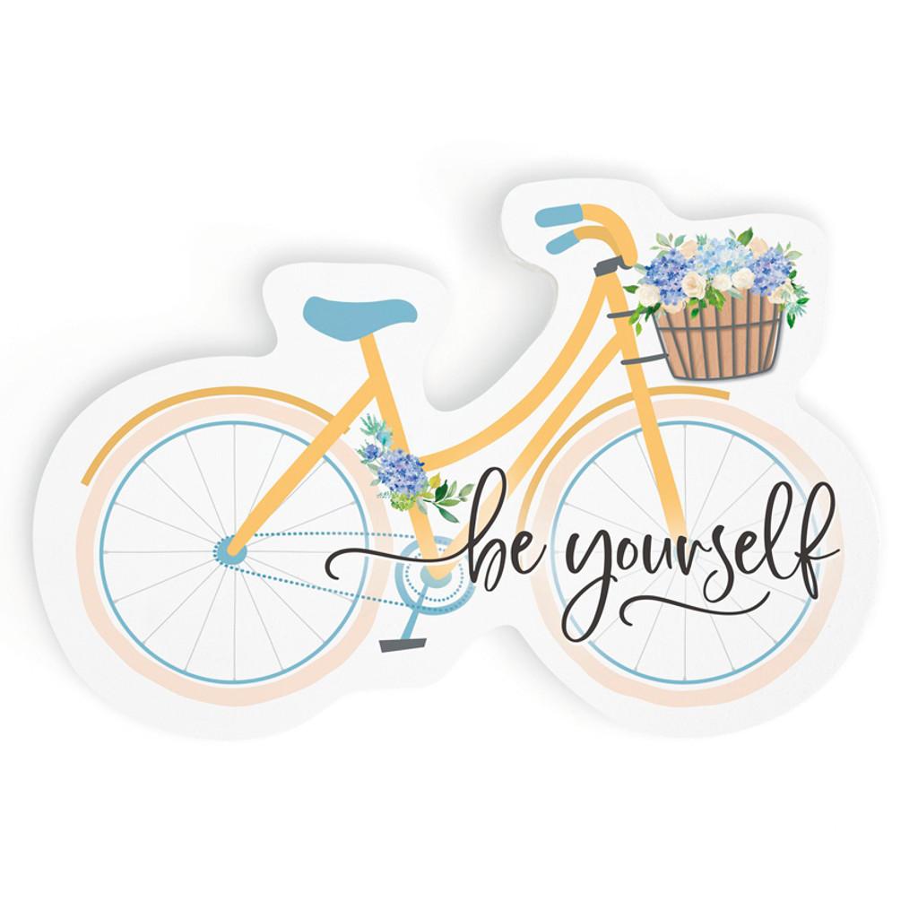 Be Yourself Desktop Bike Shape