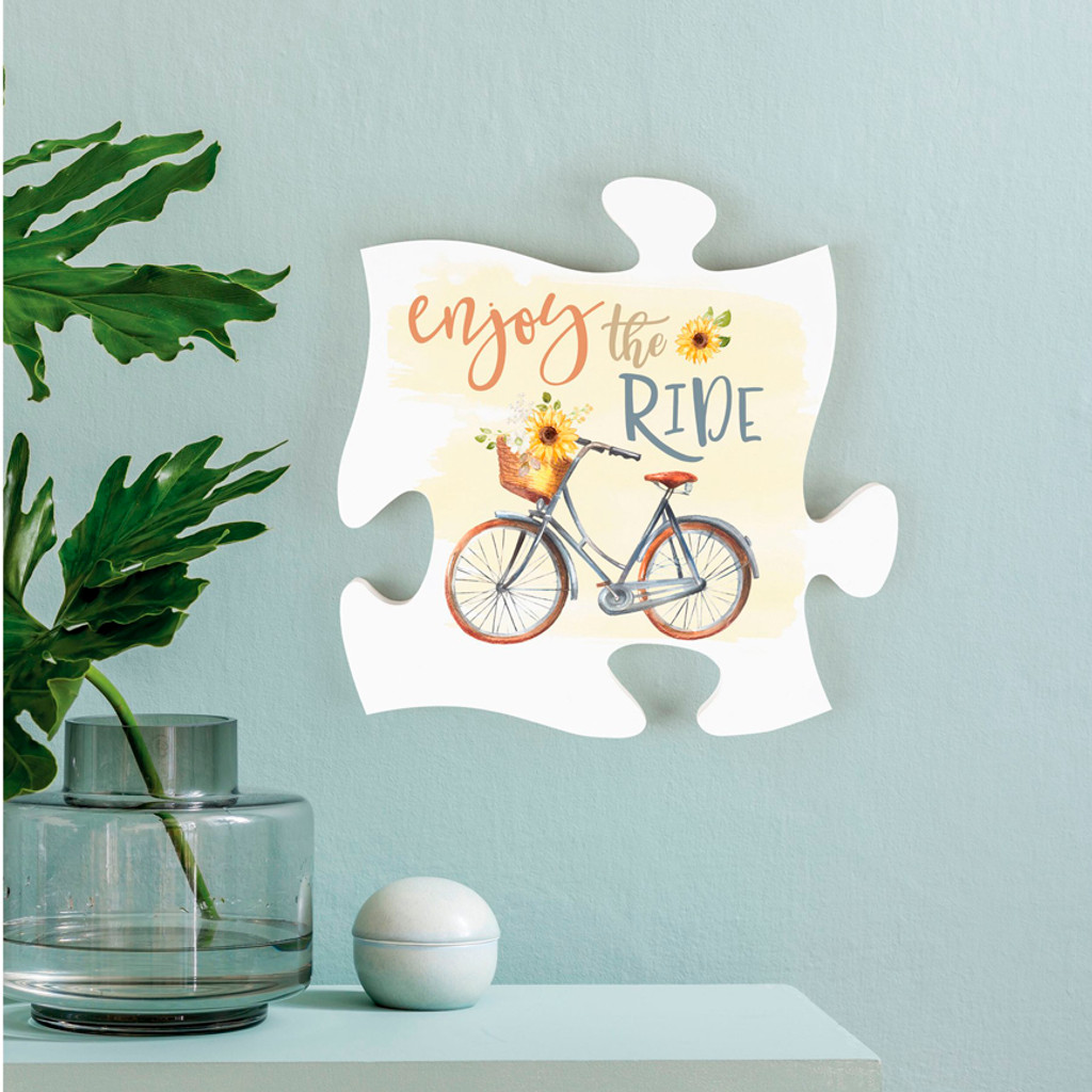 Enjoy the Ride Mini Puzzle with Frame Option
