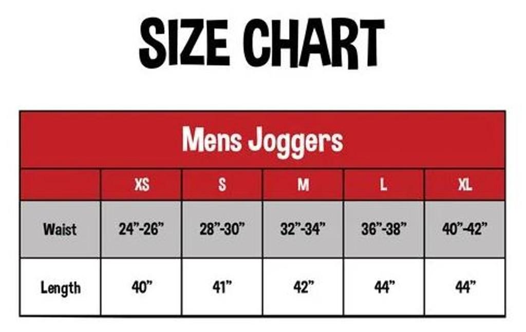 Leisure Pants Size Chart
