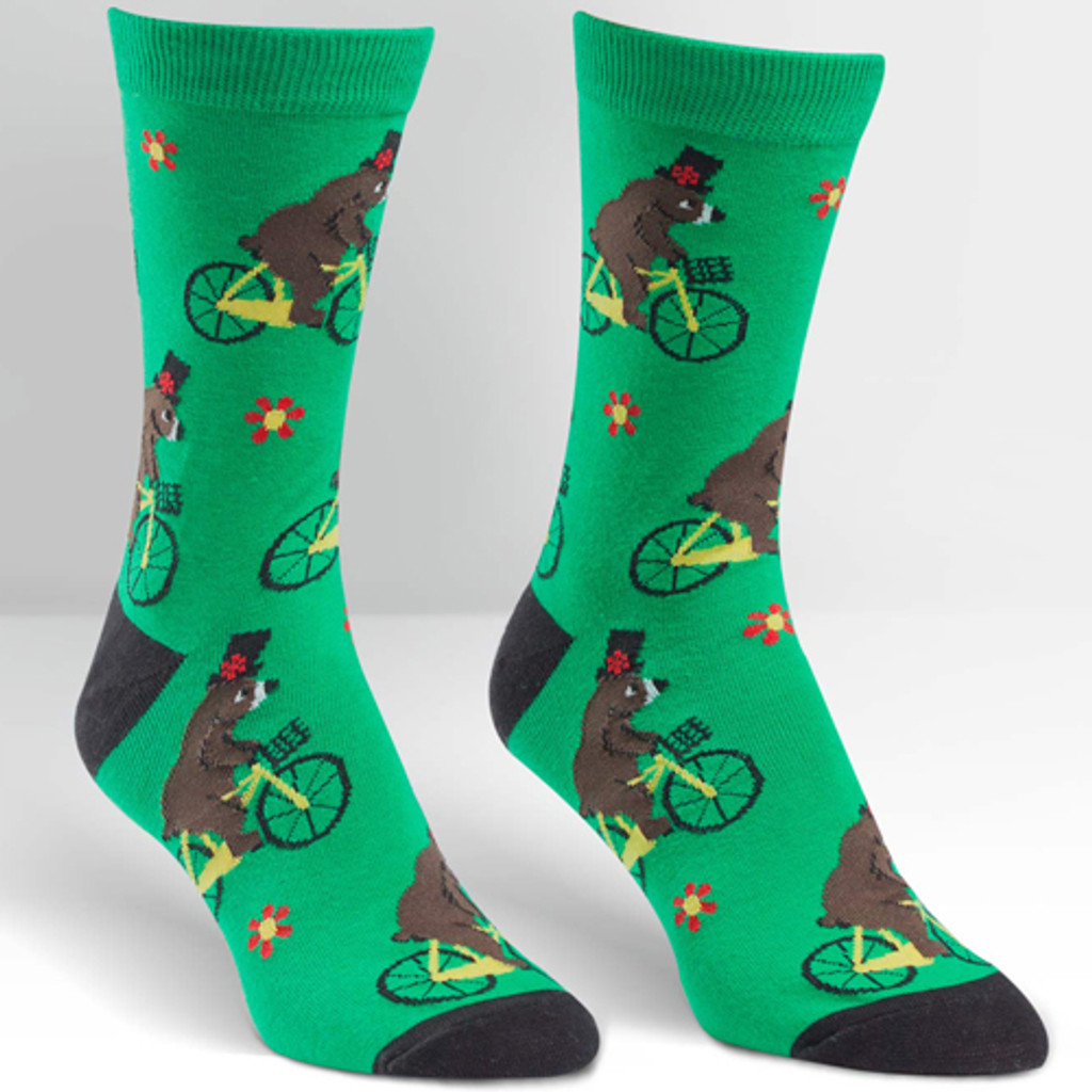 Bear on Bikes Women's Sock