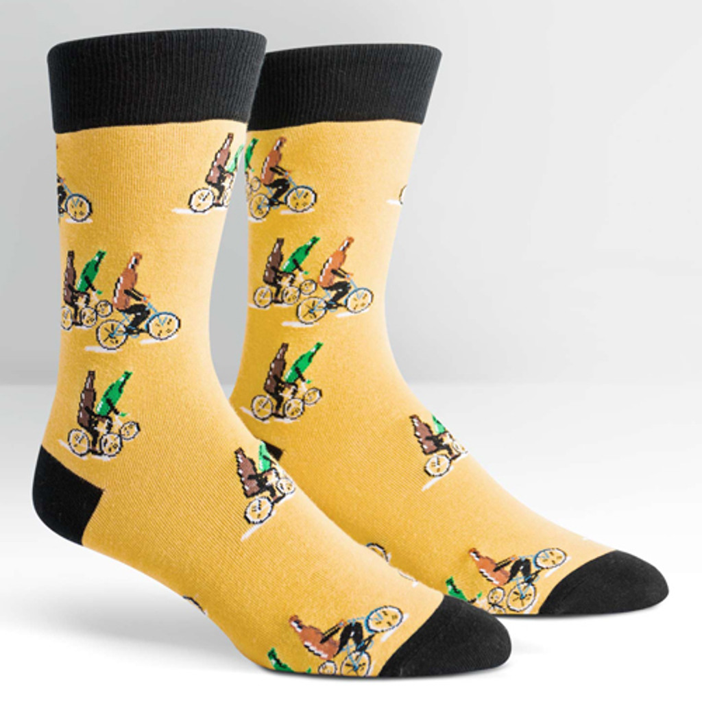 Beer on Bikes Sock