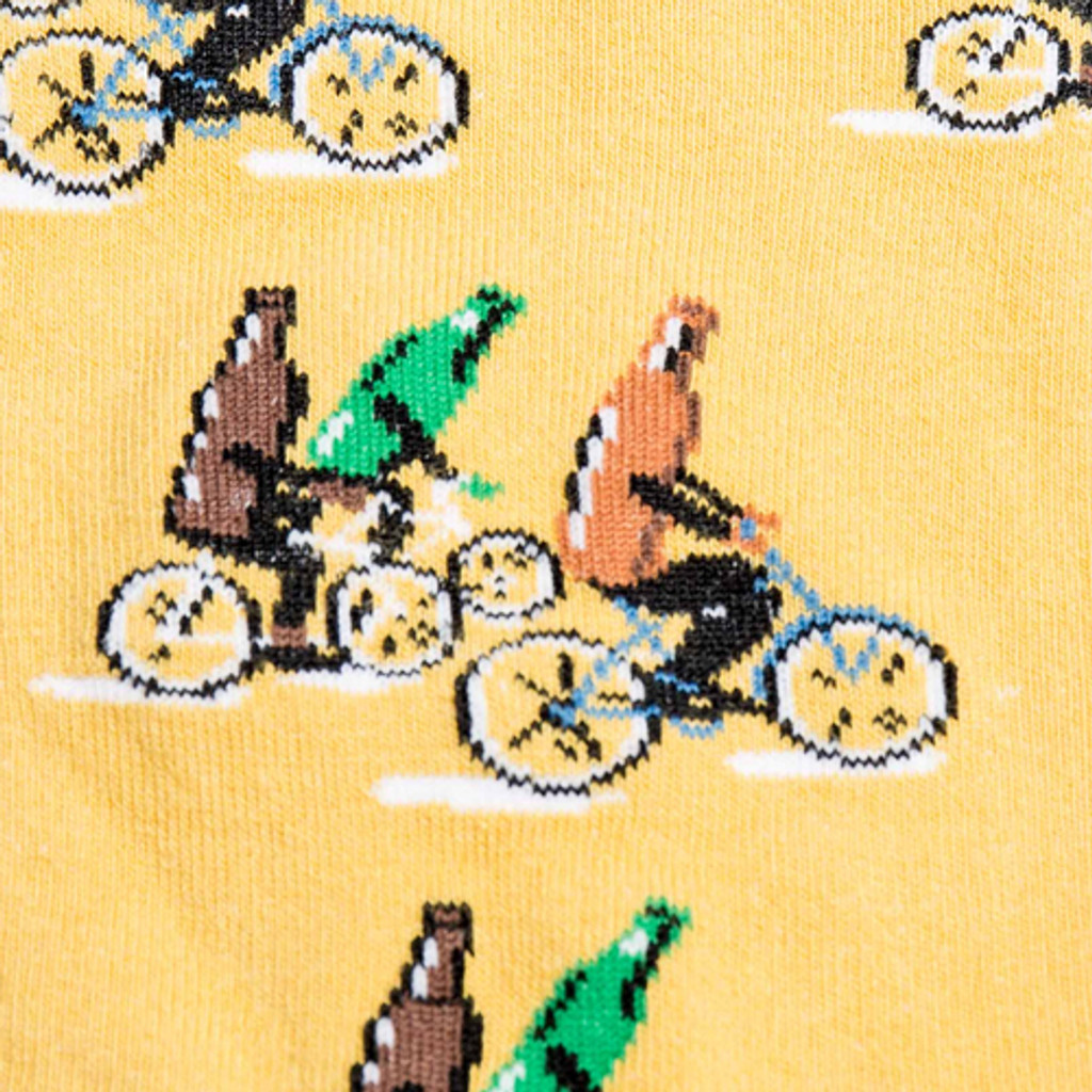 Beer on Bikes Socks