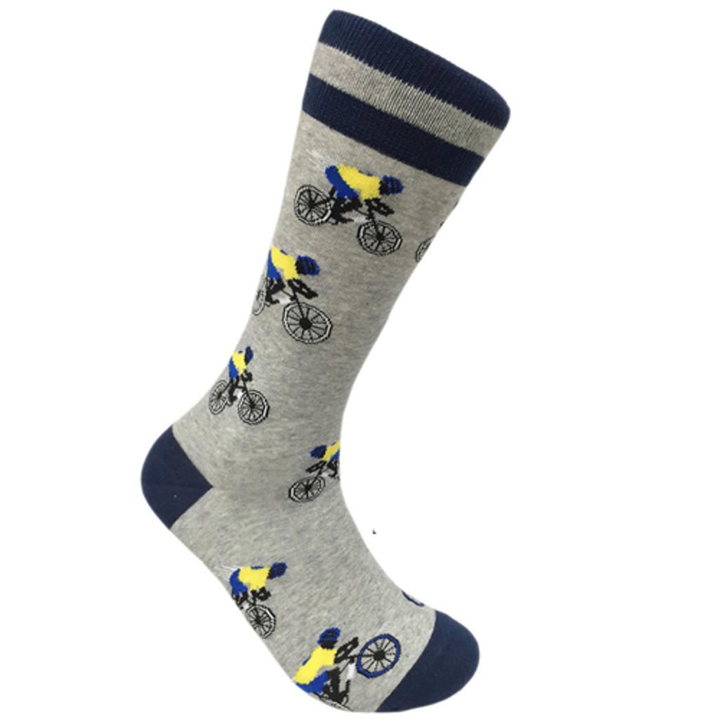 Bicycle Rider Men's Socks