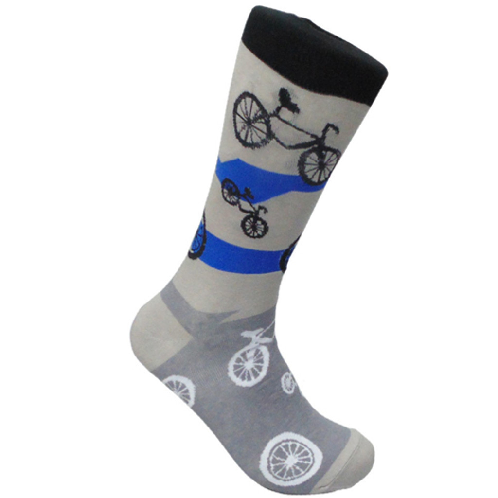 Bikes in Motion Grey Sock