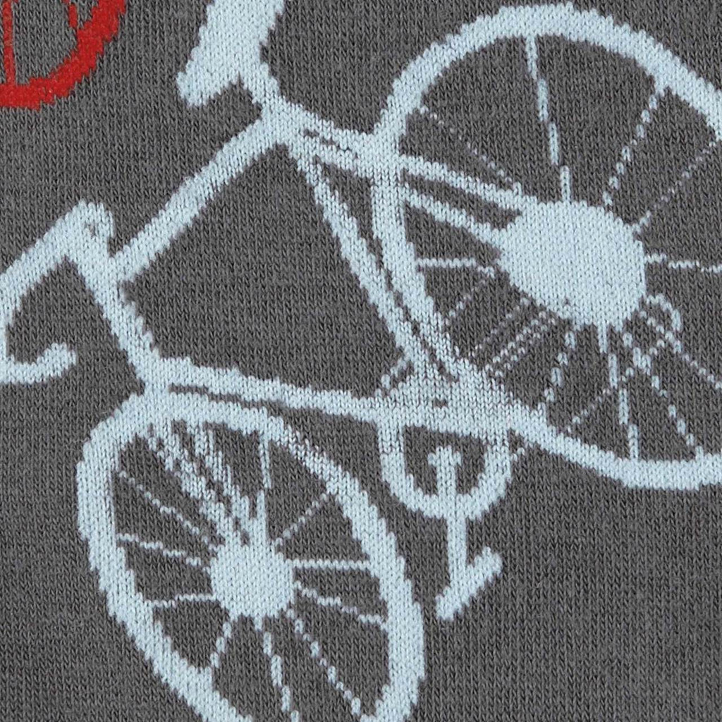 Mens Bicycles Crew Socks
