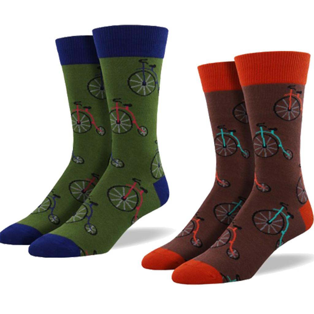 Penny Farthing Men's Socks