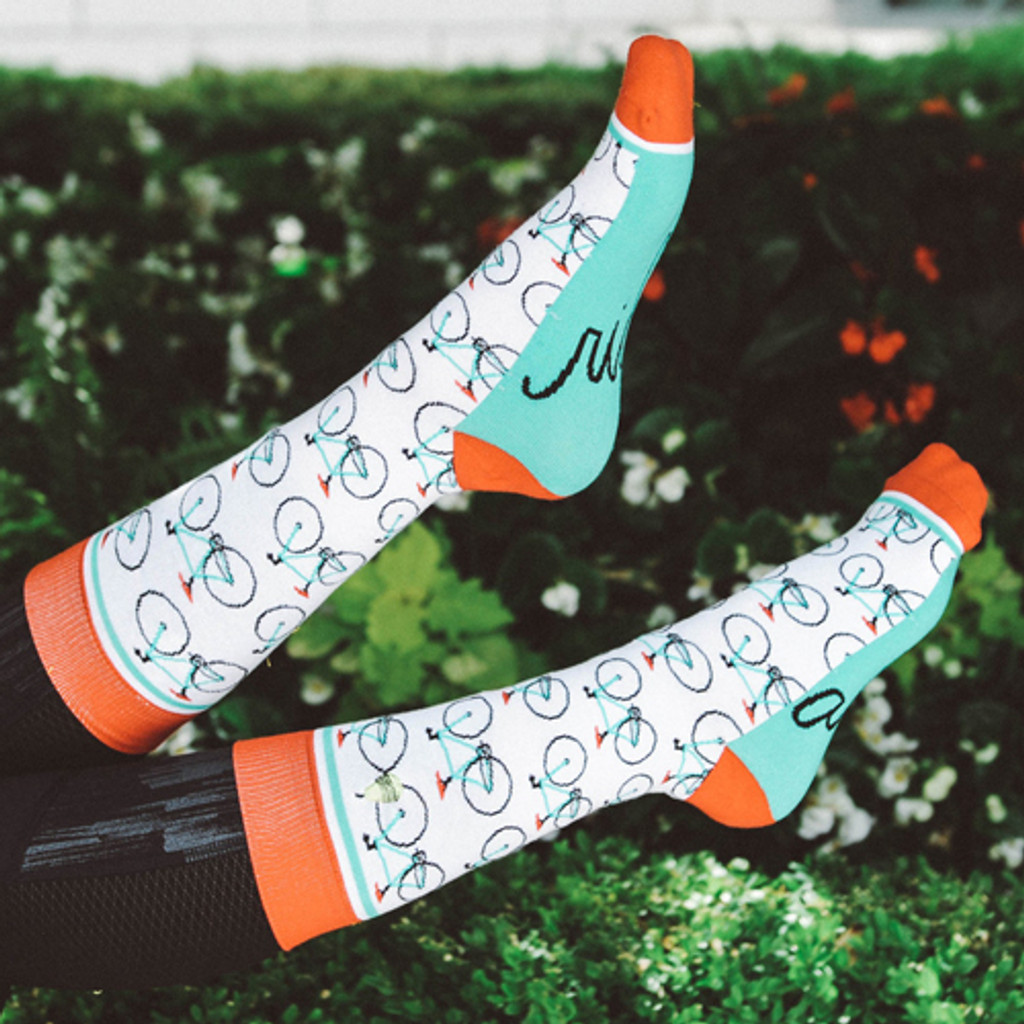 Ride Along Women's Bicycle Socks