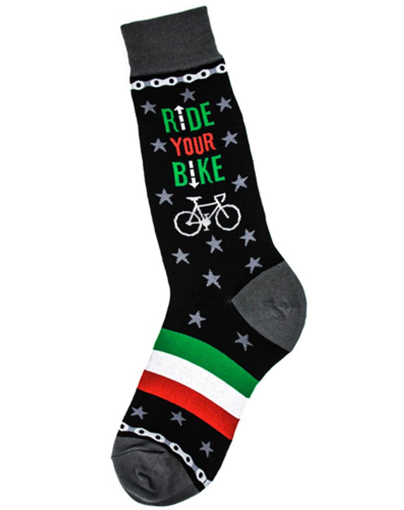 Ride Your Bike Men's Socks