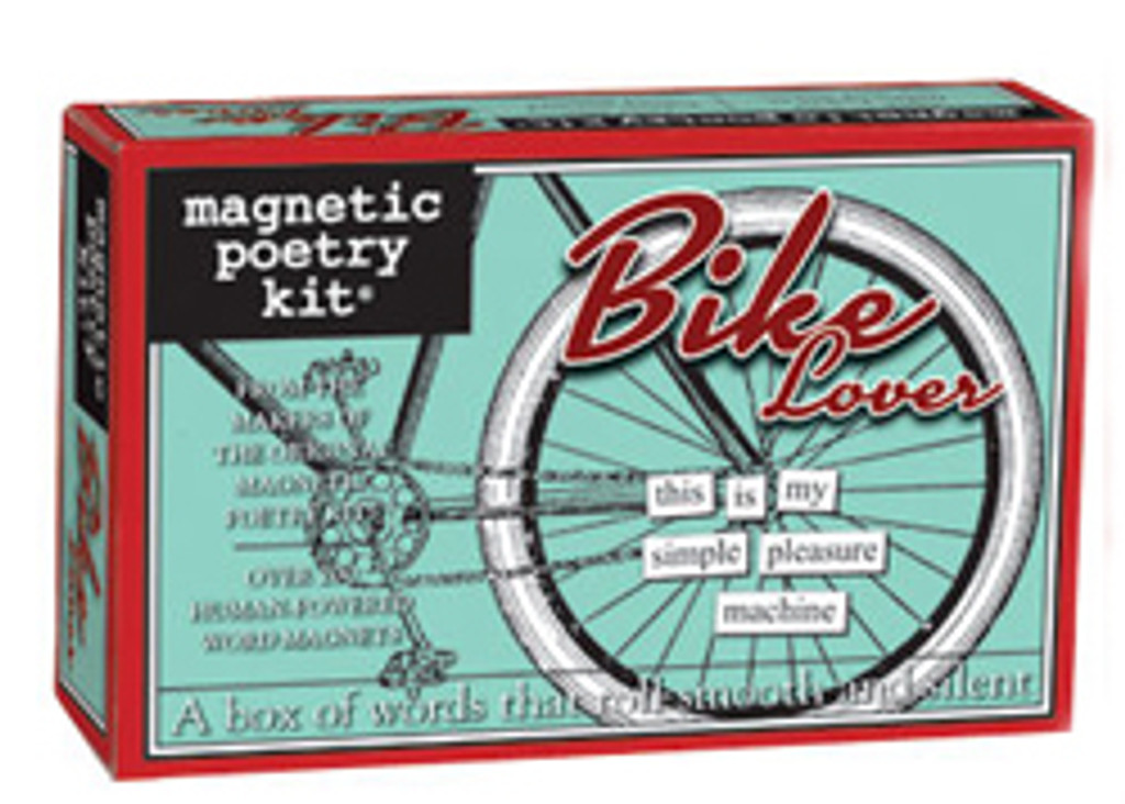 Bike Lover Magnetic Poetry