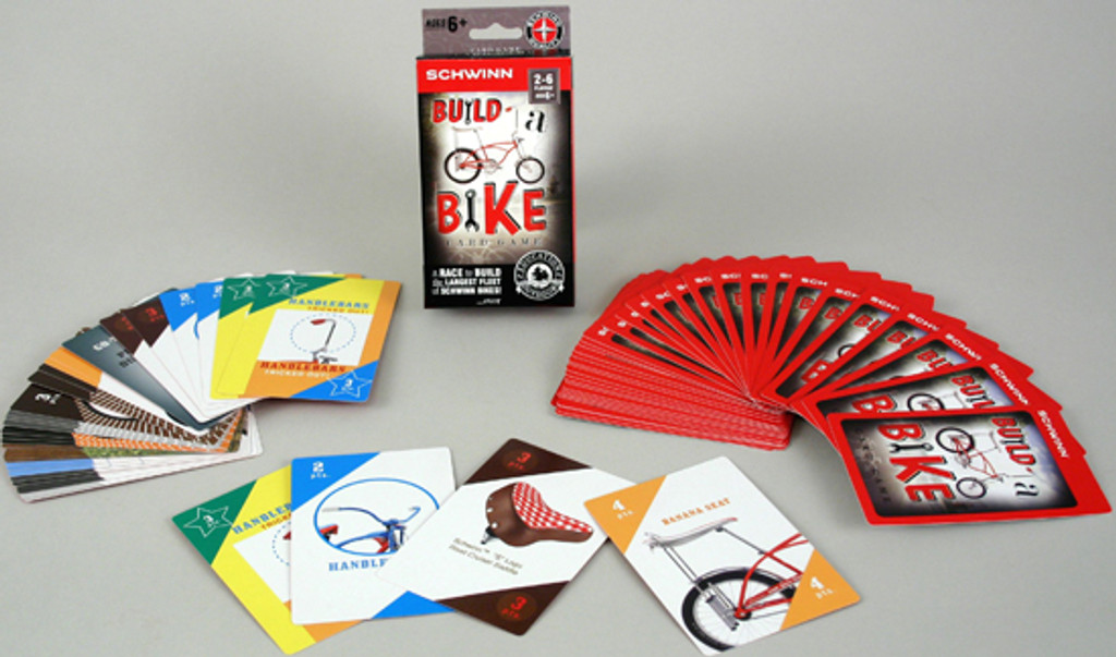 Bike Card Game for 2-6 Players